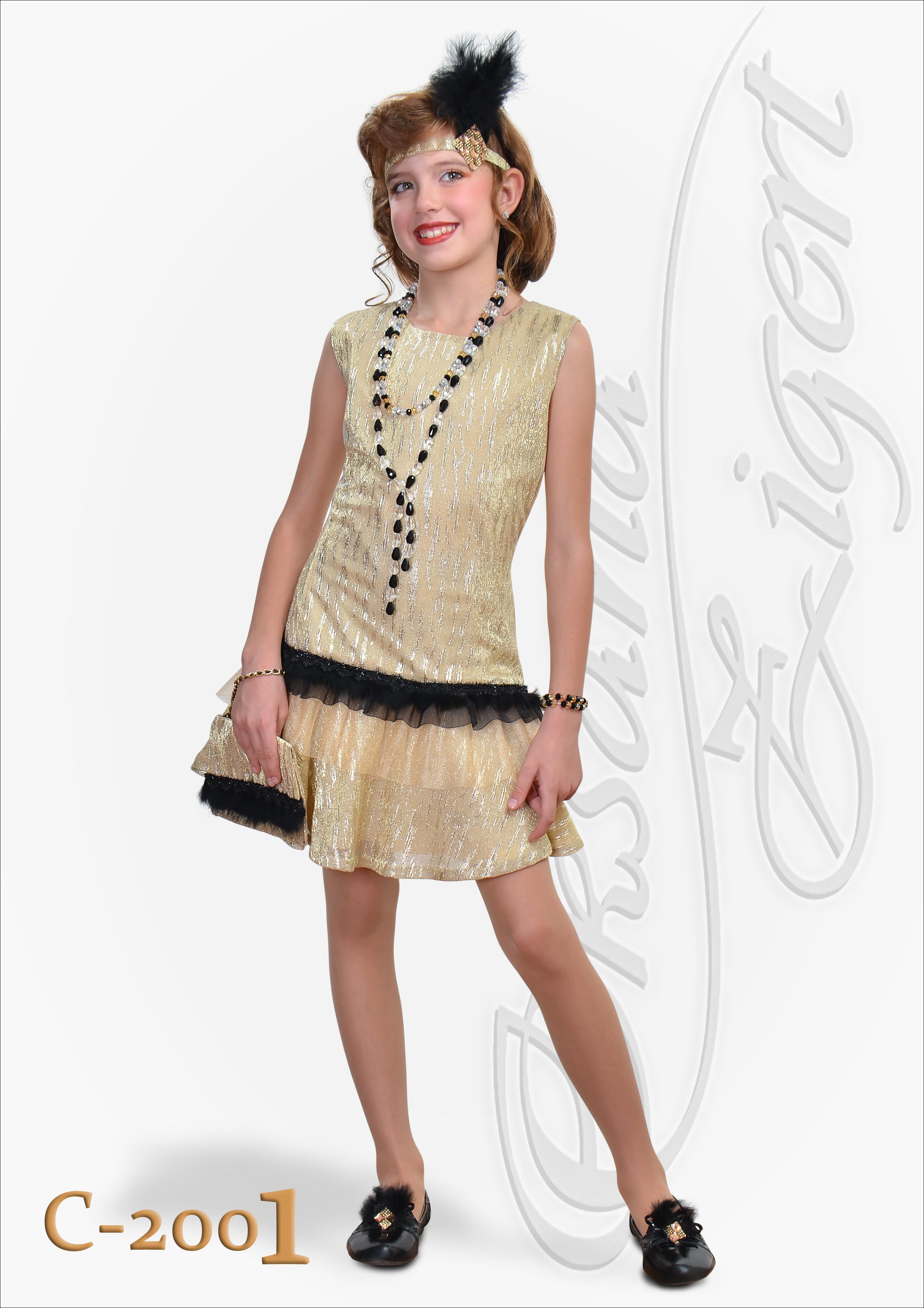 Фото стиль 20-х годов платья